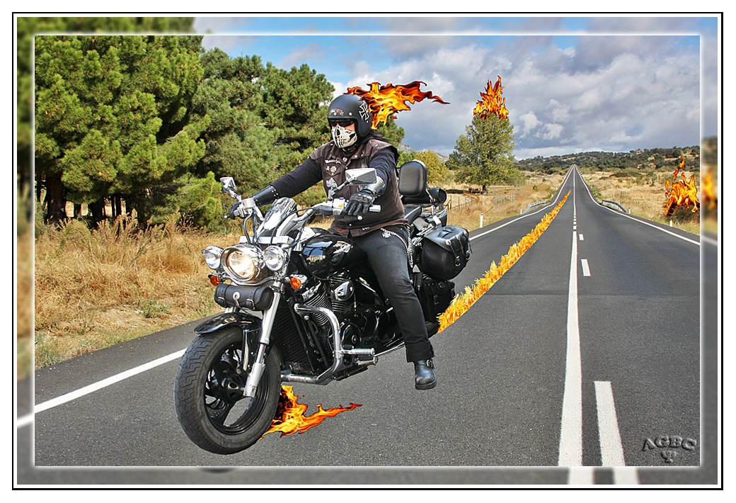 Death Rider from Hell brings burning fire II