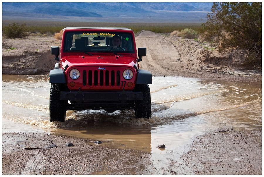 Death Valley Abenteuer