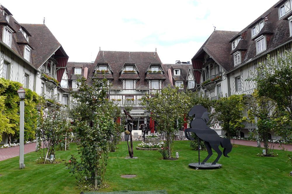 Deauville - Innenhof
