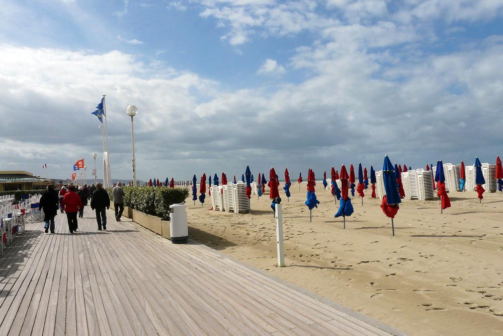 Deauville - Strandpromenade