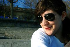 Deborah aime le soleil!