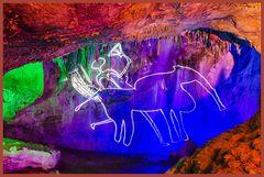 Dechenhöhle - ein Wandbild