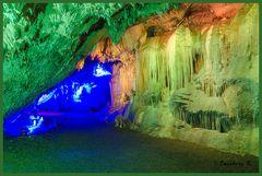 Dechenhöhle - Eingang zu einem zweiten Höhlenteil