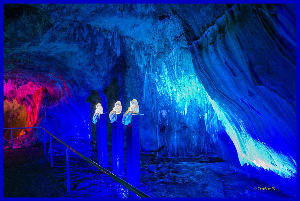 Dechenhöhle - Höhlenlichter - 2