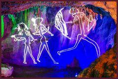 Dechenhöhle - Wandbild -