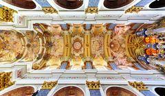 """Decke der Wallfahrtskirche """"Heilige Linde"""""""