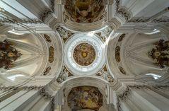 Deckenansicht in der Basilika St. Martin (Weingarten) II