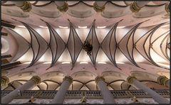 Deckenansicht Marktkirche in Paderborn