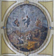 Deckenbild Gräfenhainer Kirche