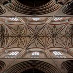 deckengewölbe der nicolaikirche in lüneburg.....