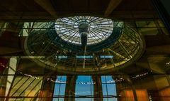 Deckengewölbe im Reichtagsgebäude