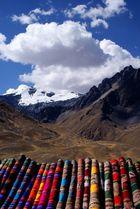 Deckenpanorama auf dem Weg zum Titicacasee