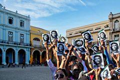 Défilé pour la mémoire du Che