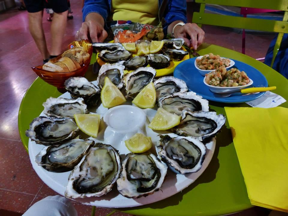 Dégustations d'huîtres à Sète dans l'Hérault