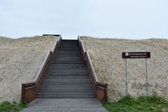 Deichübergang / Strandzugang