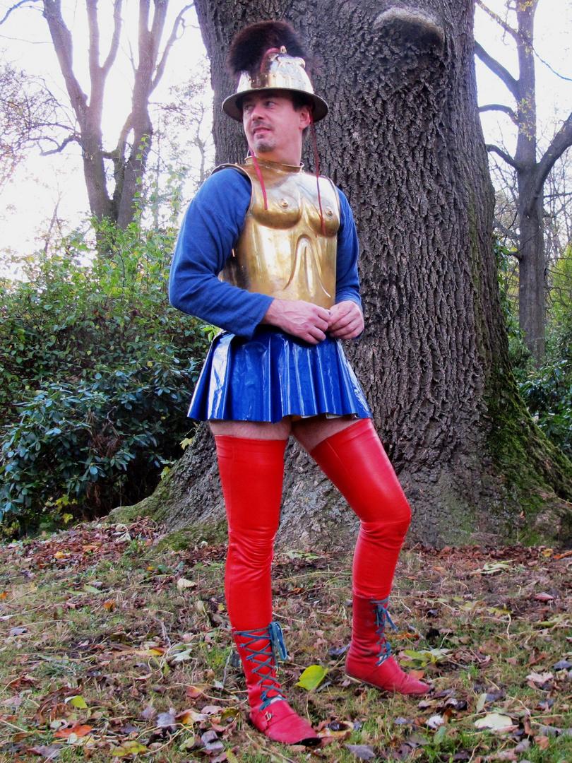 Dein Held Achilles, suchst du oder hast du schon !