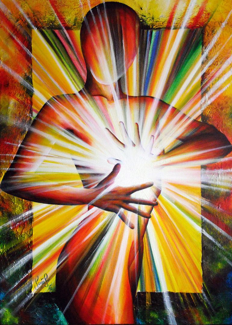 """""""Dein Licht in mir"""" Sonja Schuster 2010"""
