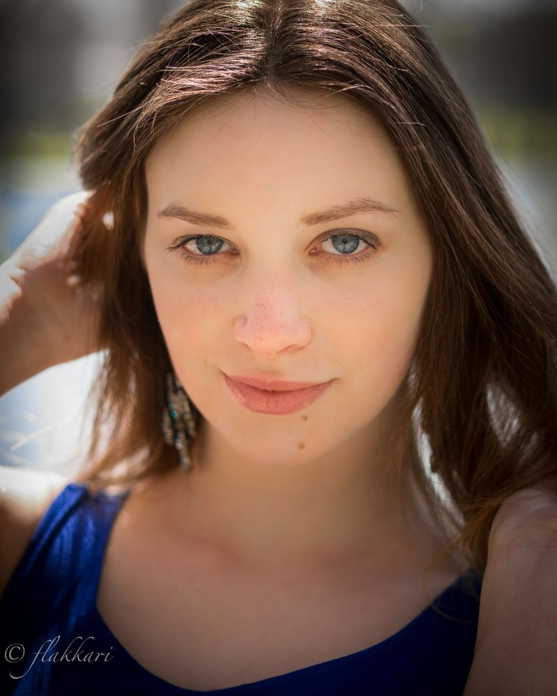 Deine blauen Augen Foto & Bild   portrait, portrait
