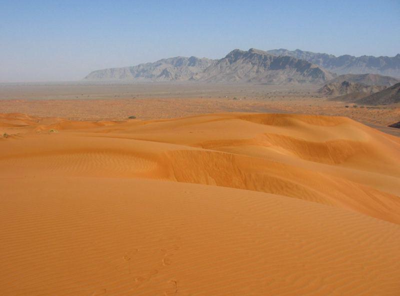 Deine Spuren im Sand.