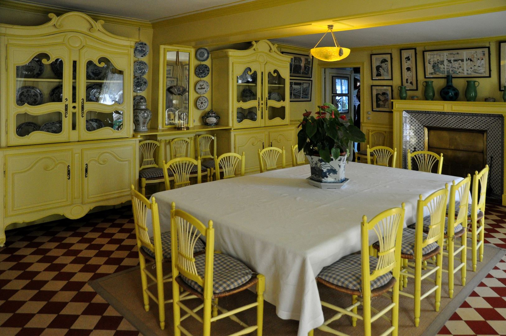 Déjeuner chez.Monet