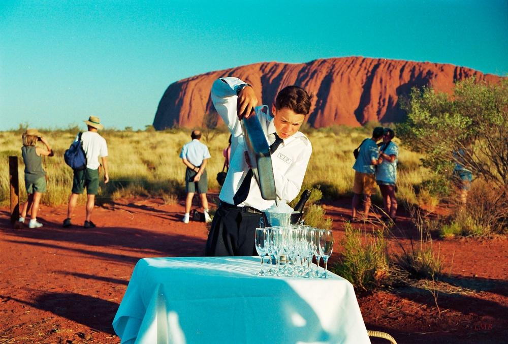 Dekadenz am Uluru