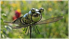 Deko Insekten Spiegelung