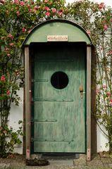 Dekorative Tür
