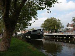 Delft, Oostpoortbrug, Rhein-Schie-Kanal