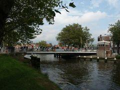 Delft, Oostpoortbrug über den Schiekanaal