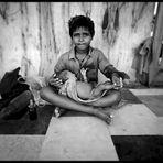 Delhi - Children in the Gurudwara Bangla Sahib