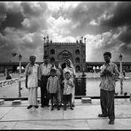 Delhi - Jama Masjid Family