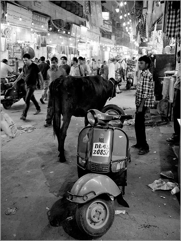 Delhi night