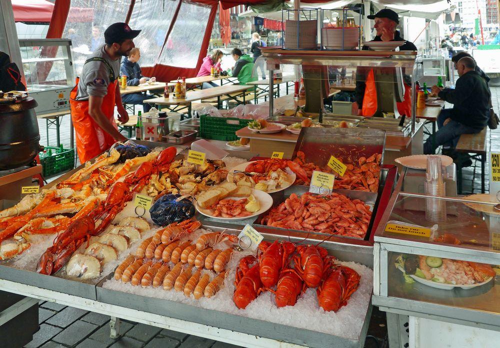 Delikatessen aus dem Meer ...