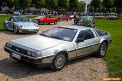 DeLorean DMC 12  IRL 1988 bei Classic Cars Schwetzingen 2017