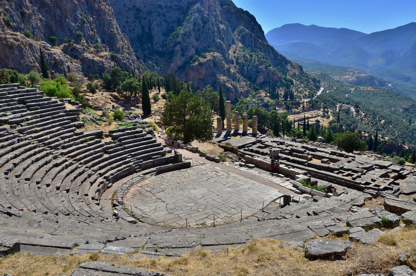 Delphi Phocis Greece