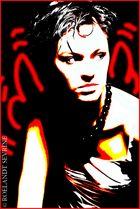 Delphine Red Angel