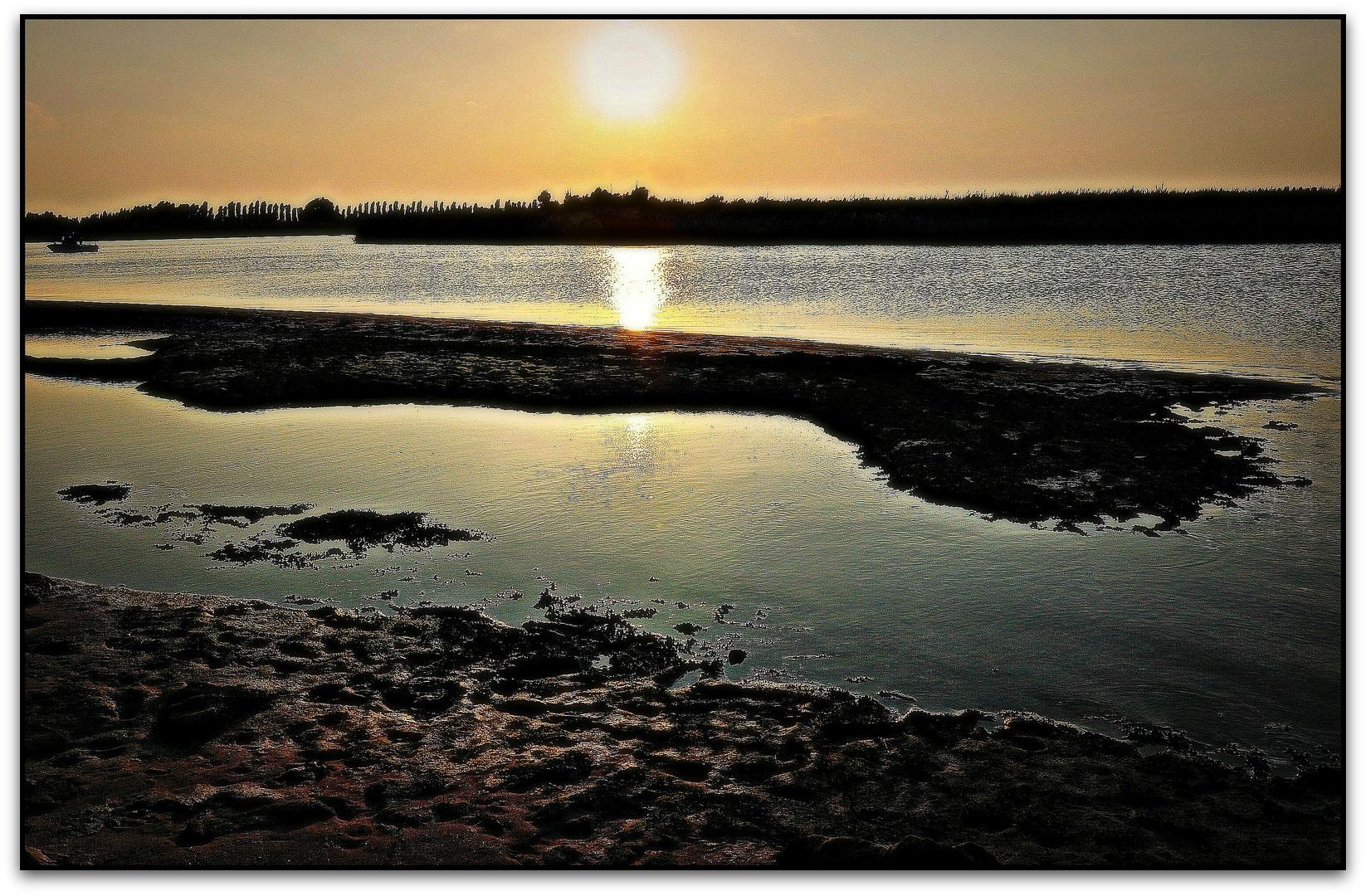 Delta dell'Adige - Sunset
