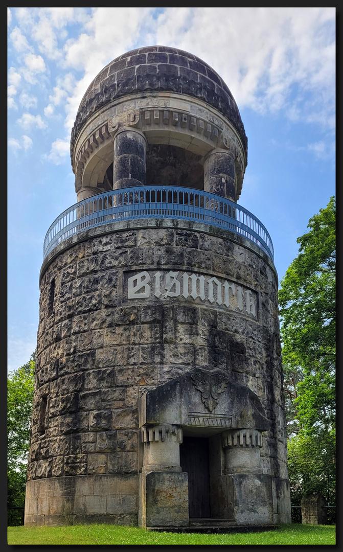 ...Dem Bismarck sein Turm...