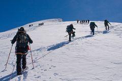 Dem Gipfel entgegen...