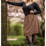 Dem Leopardenweib zu Füßen