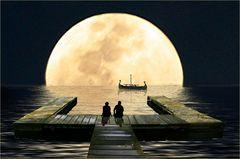 Dem Mond so nahe
