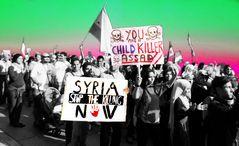 Demo gegen Assad