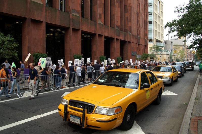 Demo in NYC