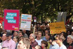 Demo Stgt Vielfalt gegen RECHTS 14-09-18 +2Fotos +Text