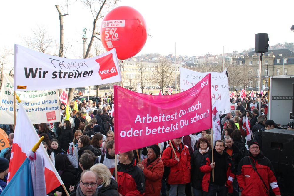 DEMO Stuttgart Verdi 4.02.2010 - ARBEITEST DU noch ?