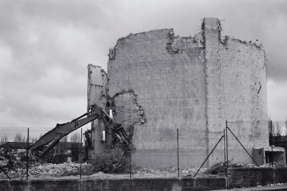 Demolizione silos ex Interzuccheri 2
