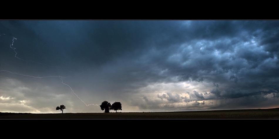 Den Blitz eingefangen!