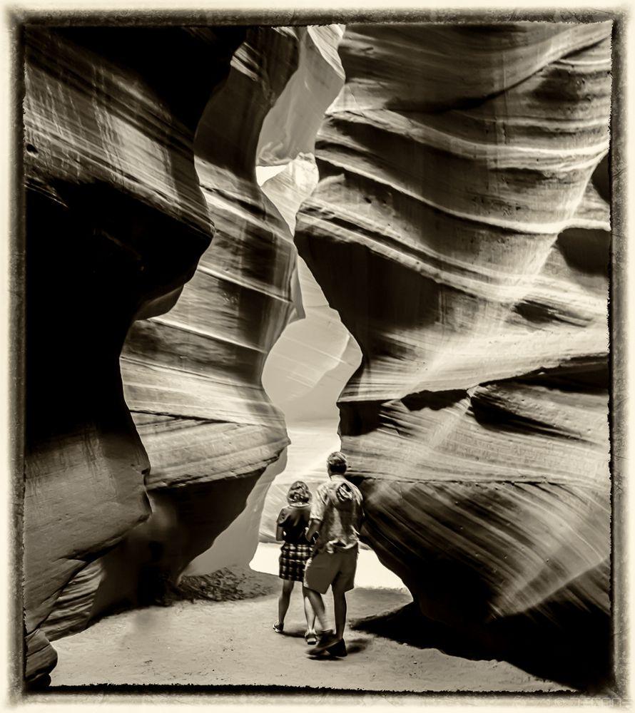 Den Canyon erkunden