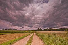 Den dunklen Wolken entgegen