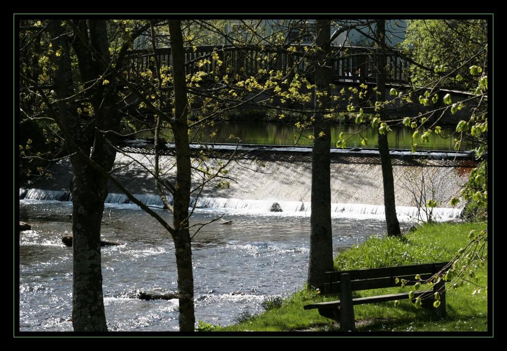 Den Fluß genießen...